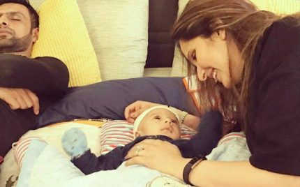 Latest Clicks Of Baby Izhan Mirza Malik