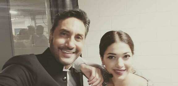 Sanam Jang With Husband And Daughter