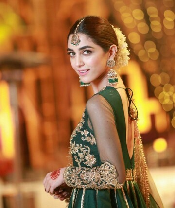 Maya Ali Looks Stunning At A Mehendi Function