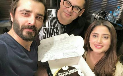 Team Alif Celebrates Sajal Aly's Birthday