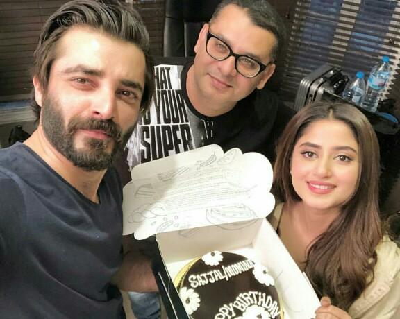 Team Alif Celebrates Sajal Aly's Birthday