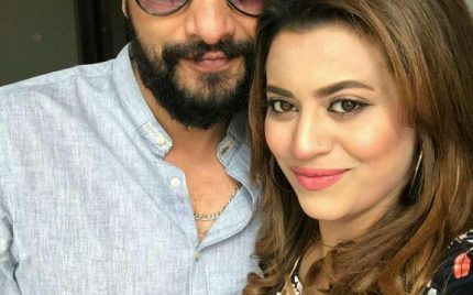 Benita David With Husband Asghar Ali In Dubai