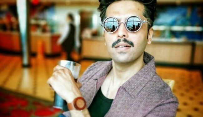 Fahad Mustafa On A Cruise In Singapore