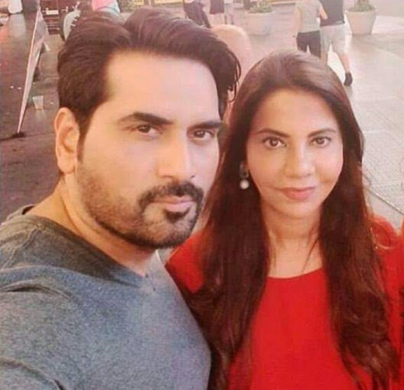 Humayun Saeed And Wife Samina On A Vacation
