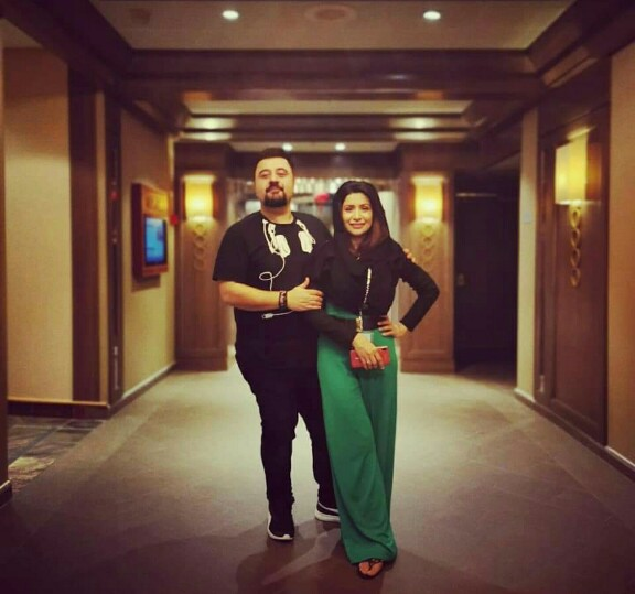 Ahmed Ali Butt's Latest Clicks With Wife Fatima Khan