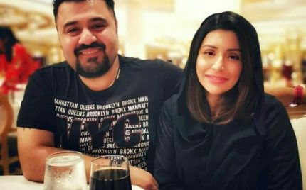 Ahmed Ali Butt's Latest Clicks With Wife Fatima Khan
