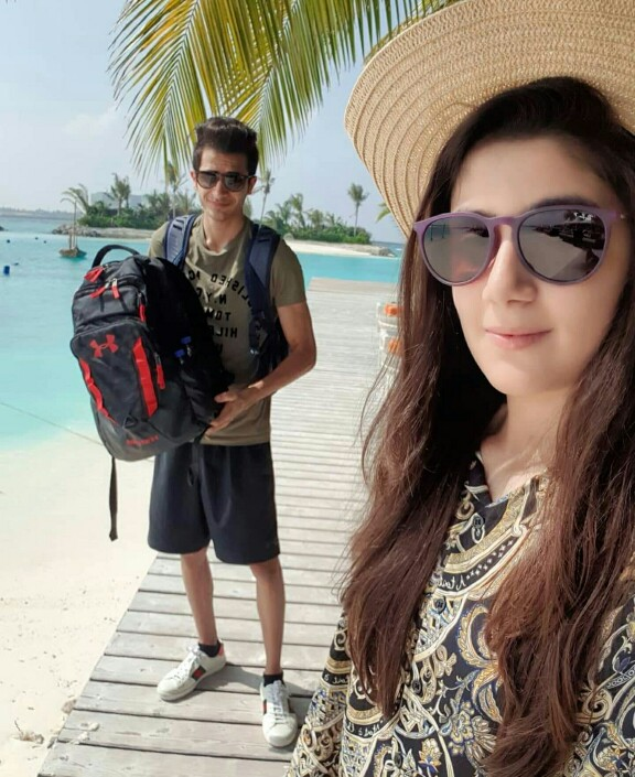 Urwa And Mawra's Brother On A Vacation