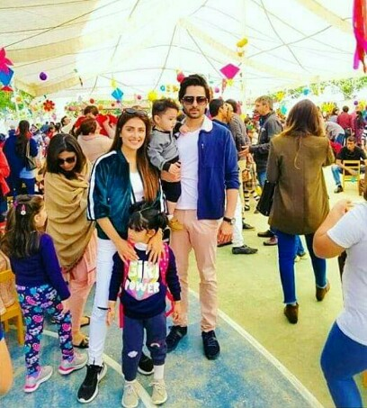 Ayeza Khan And Danish Taimoor's Perfect Family