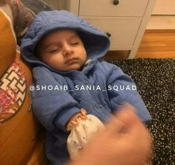 Latest Clicks Of Sania Mirza And Son Izhaan