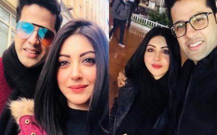 Moomal Khalid Enjoying Holidays With Husband