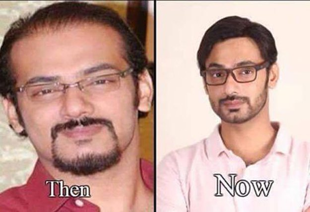 Zahid Ahmed's Inspirational 10 Year Challenge