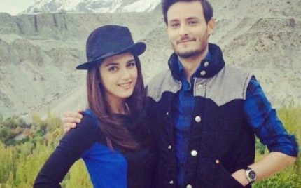 OKB Celebrates His Birthday With Best Friend Maya Ali