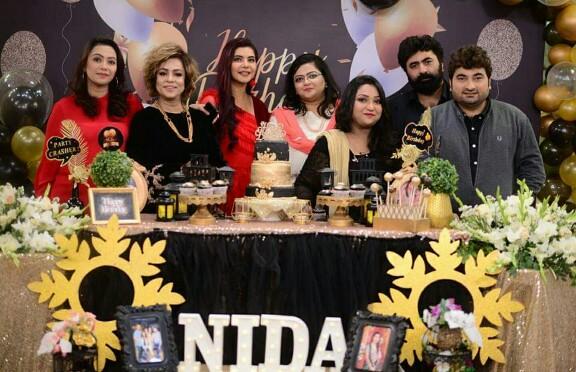 Nida Yasir's Birthday Celebrations On Good Morning Pakistan