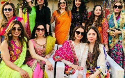 Celebrities At Sharmila Farouqi's Basant Brunch