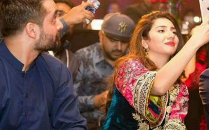 Mahira Khan Was Spotted With Friend Hamza Abbasi