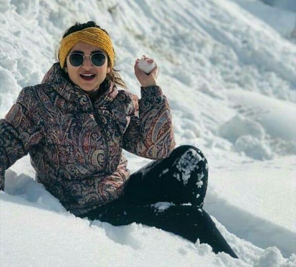 Yumna Zaidi Vacays In The Northern Areas