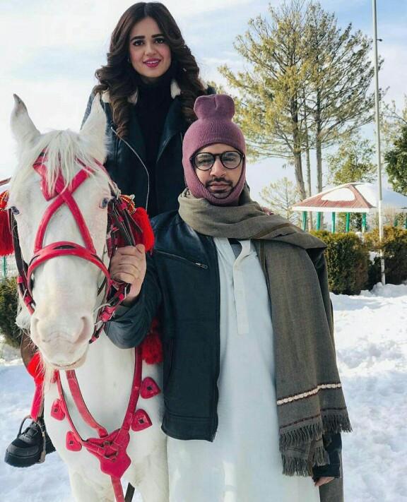 Sumbul Iqbal Khan Is In Murree