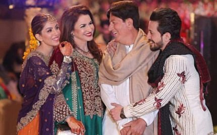 Salman Faisal's Mehendi Held Last Night-Pictures And Videos