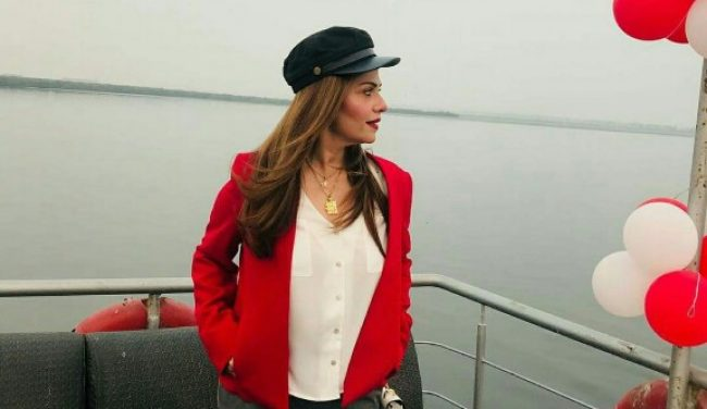Amber Khan's Latest Clicks From Her USA Trip
