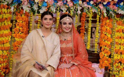 Esha Noor's Wedding On Nida Yasir's Morning Show