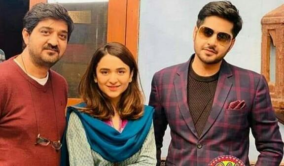 Yumna Zaidi And Imran Ashraf On The Sets Of Inkaar | Reviewit pk