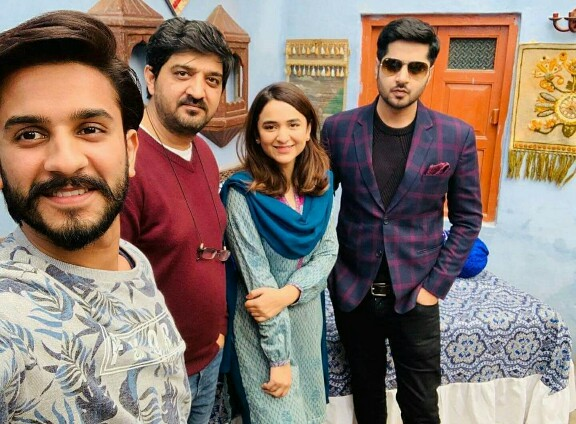 Yumna Zaidi And Imran Ashraf On The Sets Of Inkaar | Reviewit pk