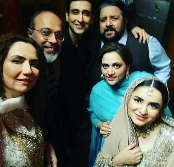 Yumna Zaidi And Imran Ashraf On The Sets Of Inkaar