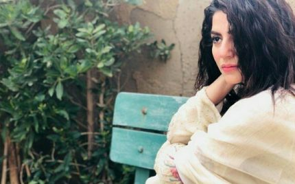 Sanam Baloch's BTS Pictures From The Sets Of Khaas