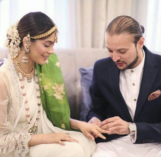 Amna Babar Gets Hitched-Pictures
