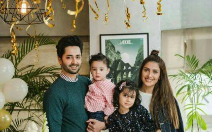 Danish Taimoor Celebrates Birthday With Family