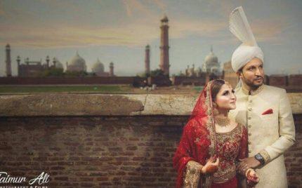 Neelum Usaf's Beautiful Wedding Pictures