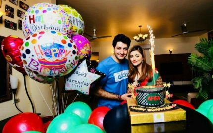 Syed Jibran Celebrated Wife Afifa's Birthday