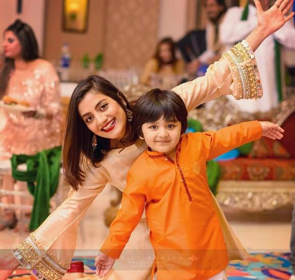 Bilal And Uroosa Qureshi At A Wedding