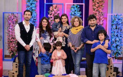 Kids Were Guests At Nida Yasir's Show