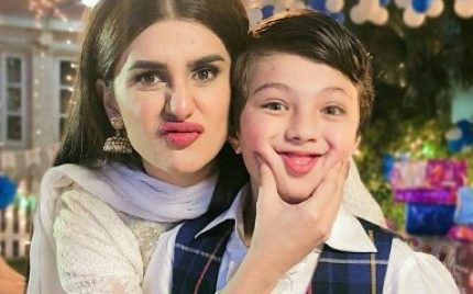 Kubra Khan Wishes Pehlaaj Hassan A Cute On Set Happy Birthday