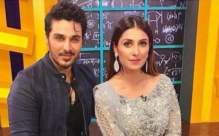 Ahsan Khan And Ayeza Khan To Star In A Webseries