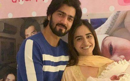 Shahzad Sheikh Welcomes Little Girl Anaya Home
