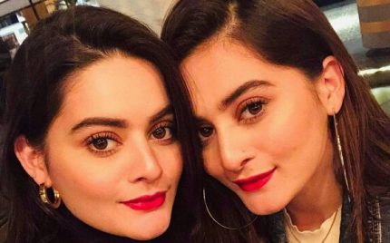 Aiman Khan And Minal Khan Out And About With Friends