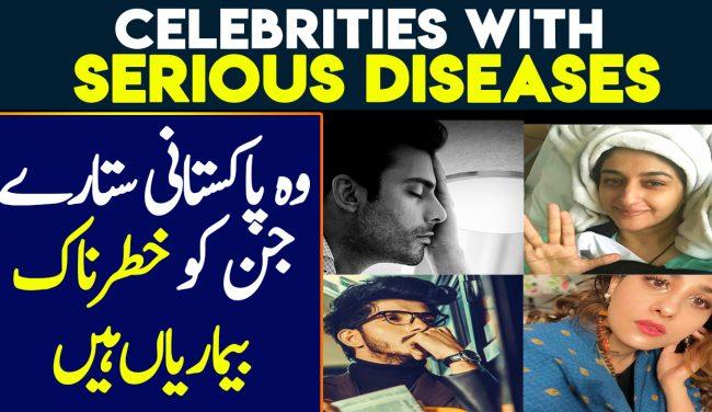 Pakistani Celebrities Fighting Serious Diseases