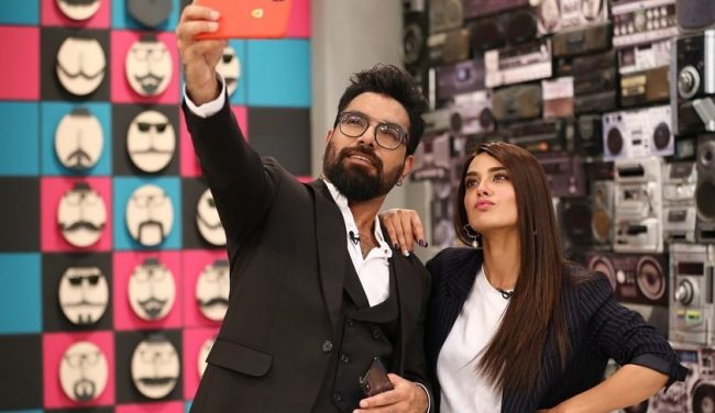 Yasir Hussain And Iqra Aziz's Relationship Is Insta Official