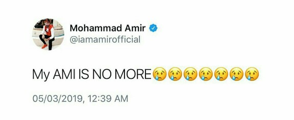 Mohammad Amir's Mother Passed Away
