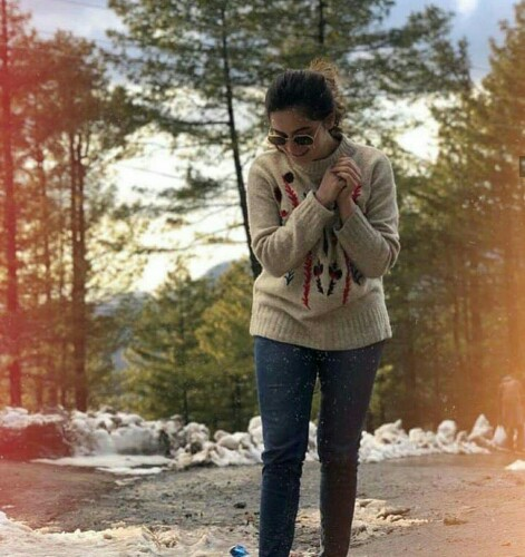 Aiman Khan And Muneeb Butt Vacaying In Murree