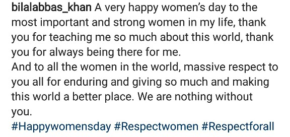 Celebrities Speak On International Women's Day