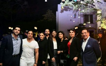 Celebrities At The Karachi Kings Party