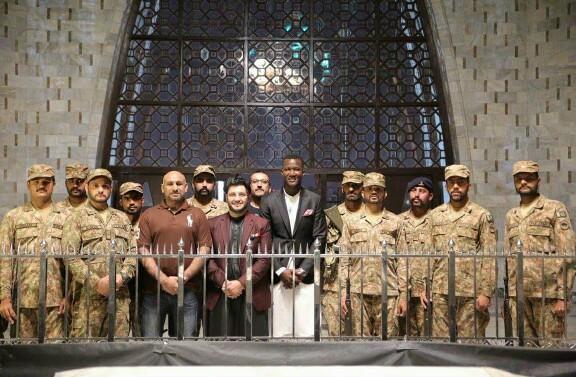 Darren Sammy Visits Mazar e Quaid