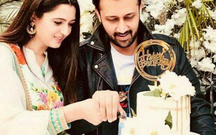 Atif Aslam Celebrates Birthday With His Family