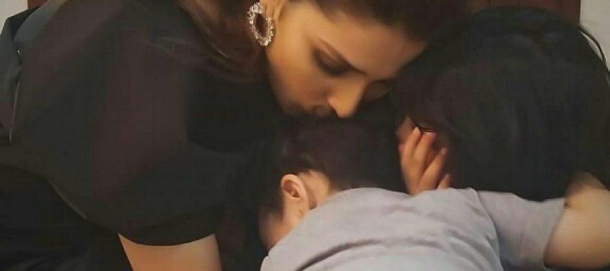 Ayeza Khan Gets Hugs From Hoorain And Rayyan