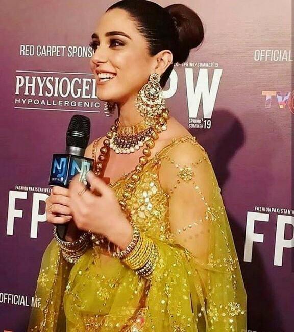 Maya Ali Walks For Nomi Ansari