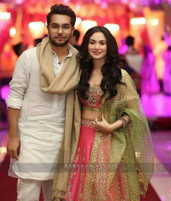 Hania Amir And Asim Azhar Attend A Wedding Together