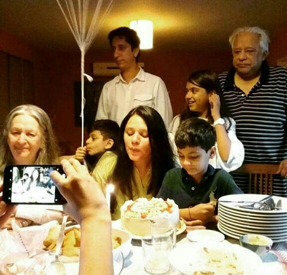 Salma Hassan Celebrated Birthday With Her Family